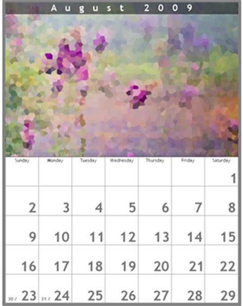 Digital Wall Calendar Digital Wall Calendar New Calendar Template Site