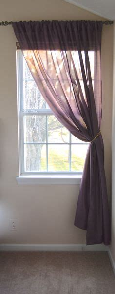 single panel curtain ideas amazing single window treatment ideas 25 best small window