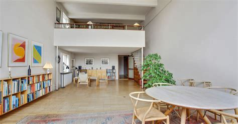 design apartment bellevue a home designed by arne jacobsen goes on sale in