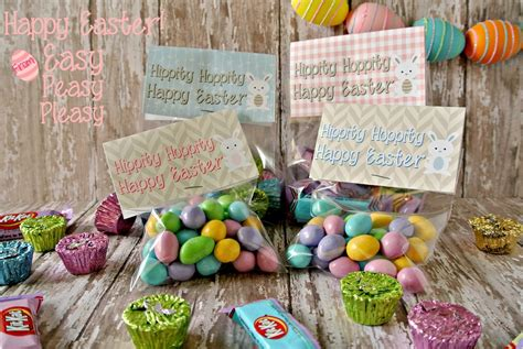 printable easter treat bag toppers easy peasy pleasy