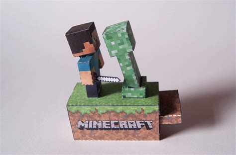 Paper Craft Machine - minecraft machine papercraft by kamibox on deviantart