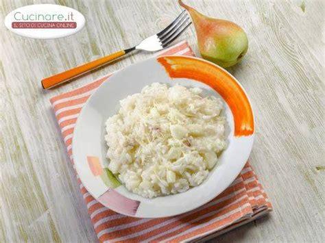 cucinare risotto risotto pere e gorgonzola cucinare it
