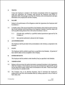 contract of employment templates employment contract template cyberuse