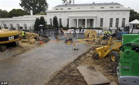 what year was the white house built is secret lair being built under the white house west