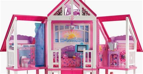 casa giocattolo la casa di malibu di con l ascensore e tre piani a