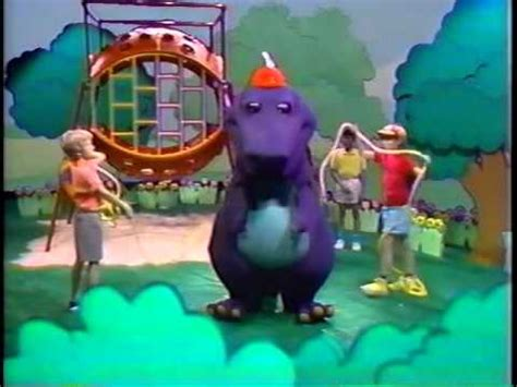 barney backyard gang previews opening closing to barney the backyard gang three wishes