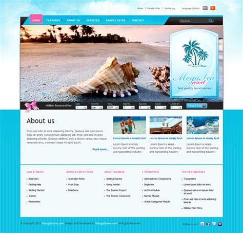 template joomla quickstart download joomla quickstart baseline free template joomla