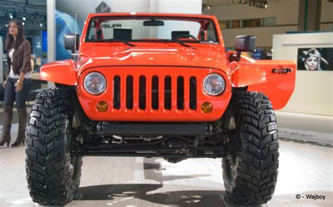 Jeep Enthusiast Jeep Lower Forty Concept At Front View Jeep Enthusiast