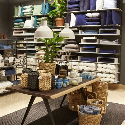 h m stores with home section the h m home department at its new london store is a dream