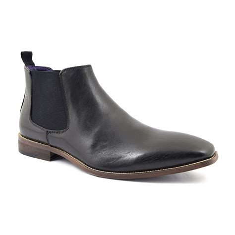 black leather chelsea boots buy mens leather black chelsea boots gucinari