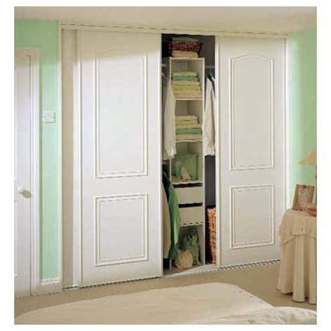 Wardrobes Homebase by 3 X Homebase White Cathedral Arch Sliding Wardrobe Doors