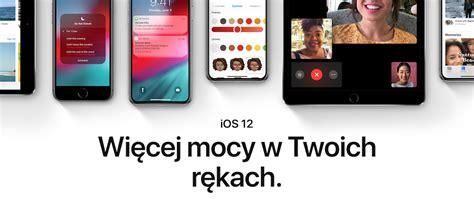 apple udostępnia pierwszą publiczną wersję beta systemu ios 12
