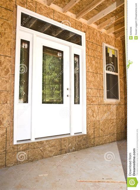 Exterior Door Construction New Front Door Construction Stock Photo Image 6299298