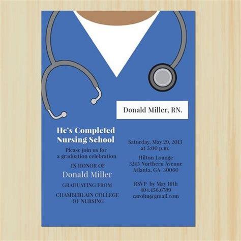 nursing graduation invitation templates graduate invites appealing nursing school graduation