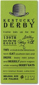 Kentucky Home Original Lyrics by Kentucky Derby Invitations And Ideas From
