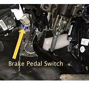 Here Is The Brake Pedal Switch Shown On A 2011 Ford F 150