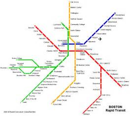 Map Of Boston T by News Tourism World Boston Subway Map Mbta