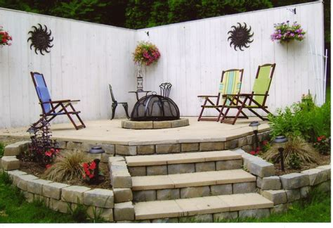 create your own backyard firepit yard ideas