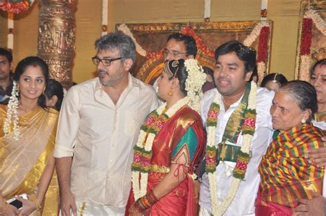 actor kushboo height tamil film news ajith in actor shiva marriage stills