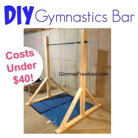 25 best ideas about gymnastics bars on diy