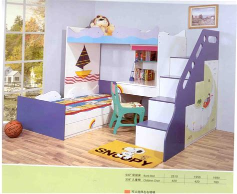 kids bunk beds with desk children s furniture macalinne