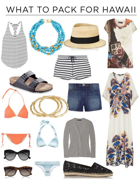 bringing a to hawaii how to dress for a trip to hawaii what to pack