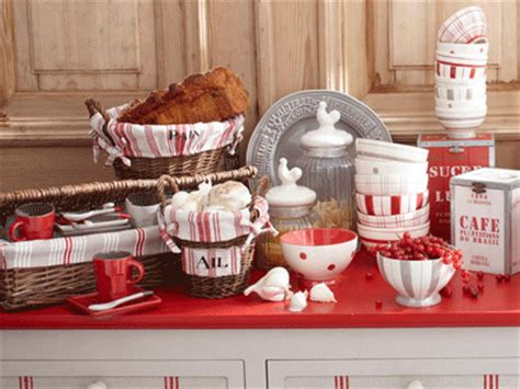 red kitchen accessories ideas country decorating with gray white and pink red colors