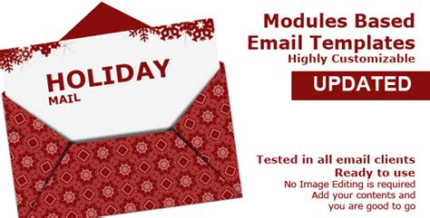 happy holidays email card template best list of email cards templates for