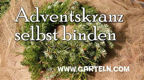 Adventskränze Binden by Adventskranz Selbst Binden