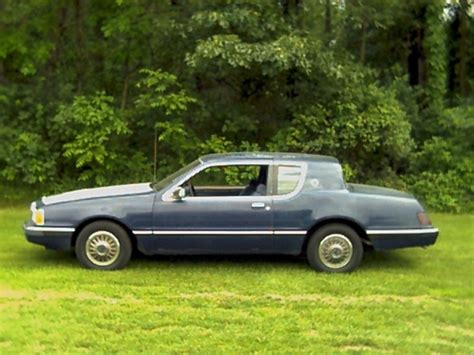 tha hypnotist 1985 mercury cougar specs photos modification info at cardomain