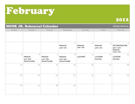 blank 8 week calendar page 2 calendar template 2016