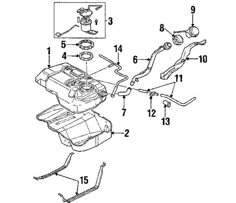 2002 ford escape parts diagram parts 174 ford escape fuel system components oem parts