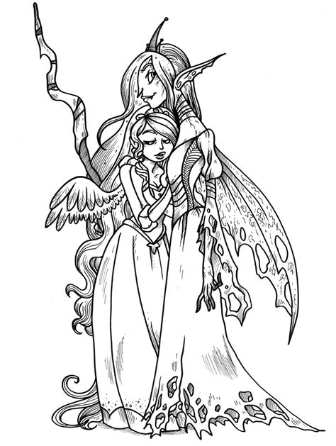 Mlp Chrysalis And Cadence By Secondlina On Deviantart Coloriage Princesse Cadance L