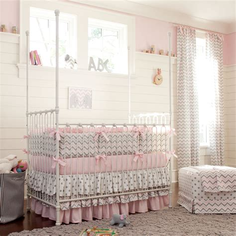Bedding For A Crib Giveaway Carousel Designs Crib Bedding Set
