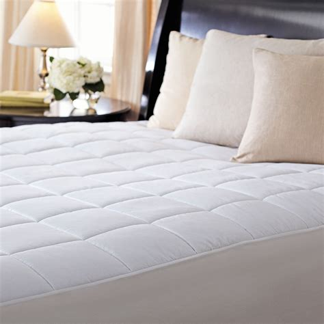 heating pad for bed sunbeam 174 premium quilted heated mattress pad