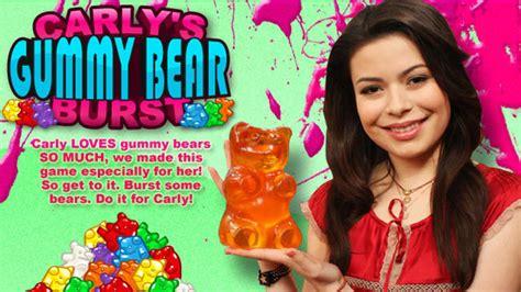 icarly gummy bear l icarly carly s gummy bear burst nick asia com
