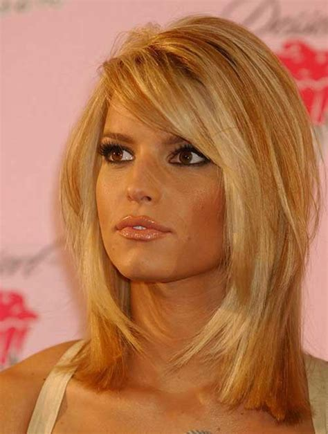 Mid Length Hairstyles by Mid Length Wedge Layered Bob Html Autos Weblog