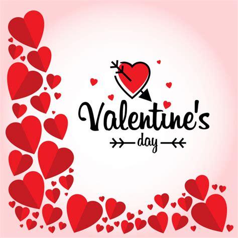 imagenes san valentin sin copyright d 237 a de san valent 237 n con marco de corazones rojos