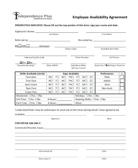 Attendance List Template Document Formats Monthly Class Availability Sheet Templates For Flyers Employee Availability Template