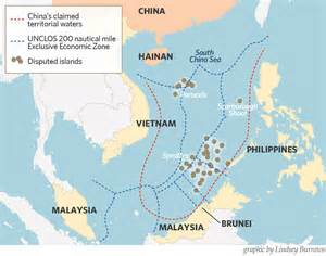South China Sea Dispute Map by South China Sea Territorial Disputes Continued Peace