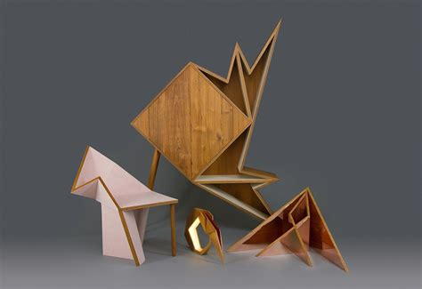 Origami Style - geometric furniture form and function origami style