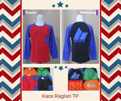 Baju Kaos Raglan Distro Branded Azzurra 535 13 Abu Komb grosir baju daster mukena katun jepang distro sarung murah langsung dari pabrik