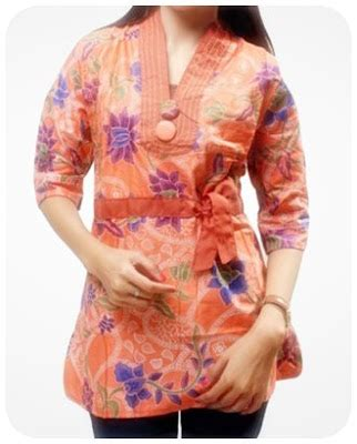 Blouse Wanita Busana Wanita Pakaian Wanita Kemeja Wanita Jual Blouse 7 pakaian baju model pakaian kemeja batik wanita terbaru
