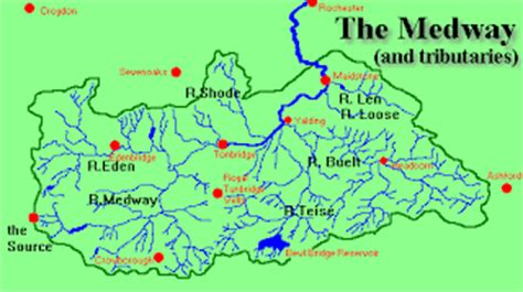 river thames catchment area map bernard cornwell river medway