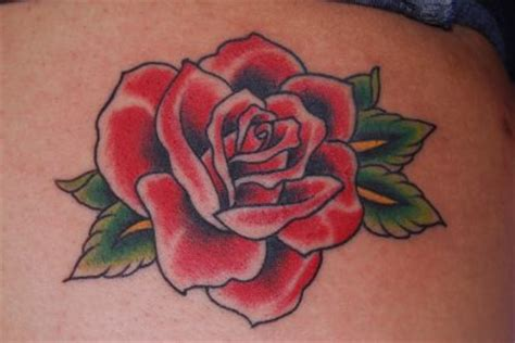 old english rose tattoos tattoos on back from itattooz