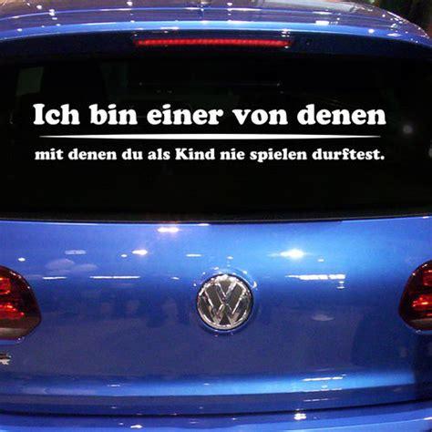 Lustige Autoaufkleber Diesel by Heckscheibenaufkleber Auto Aufkleber Mit Lustigen Spr 252 Chen