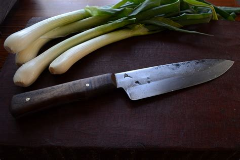 hand forged kitchen knives hand forged custom chef s knife