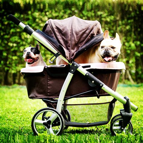strollers for large dogs ibiyaya luxury stroller gear for medium large dogs within 35kg pet cat stroller