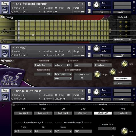 best guitar vst kvr sr5 rock bass by prominy guitar vst plugin audio