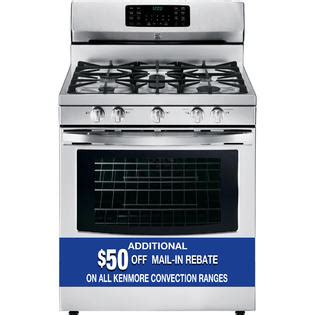 kenmore warm and ready drawer gas oven kenmore 5 6 cu ft gas range high heat at sears